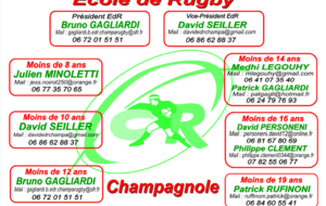 Organisation Ecole de Rugby